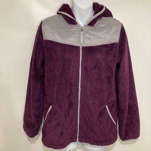 The North Face XL Oso Purple Silky Fleece Hoodie